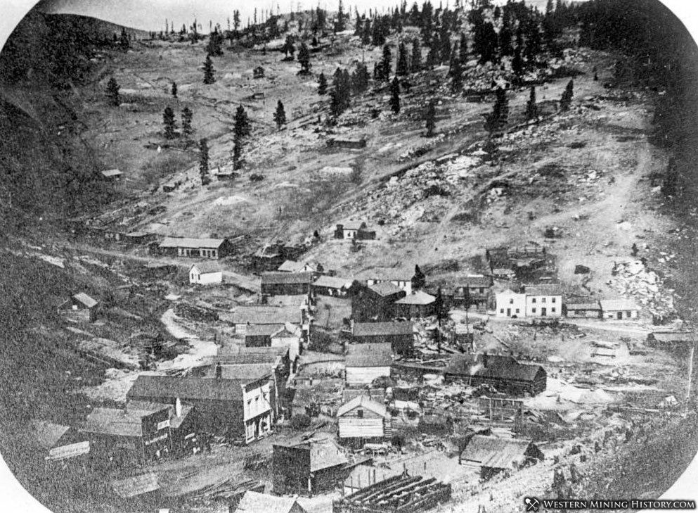 Central City in 1860