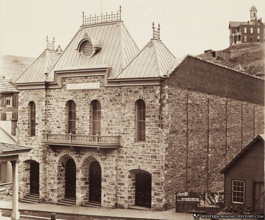 Central City Opera House around 1880