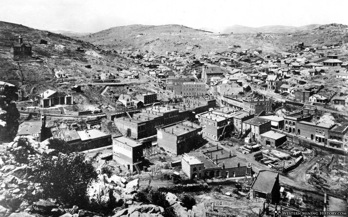 View of Central City in the 1880s