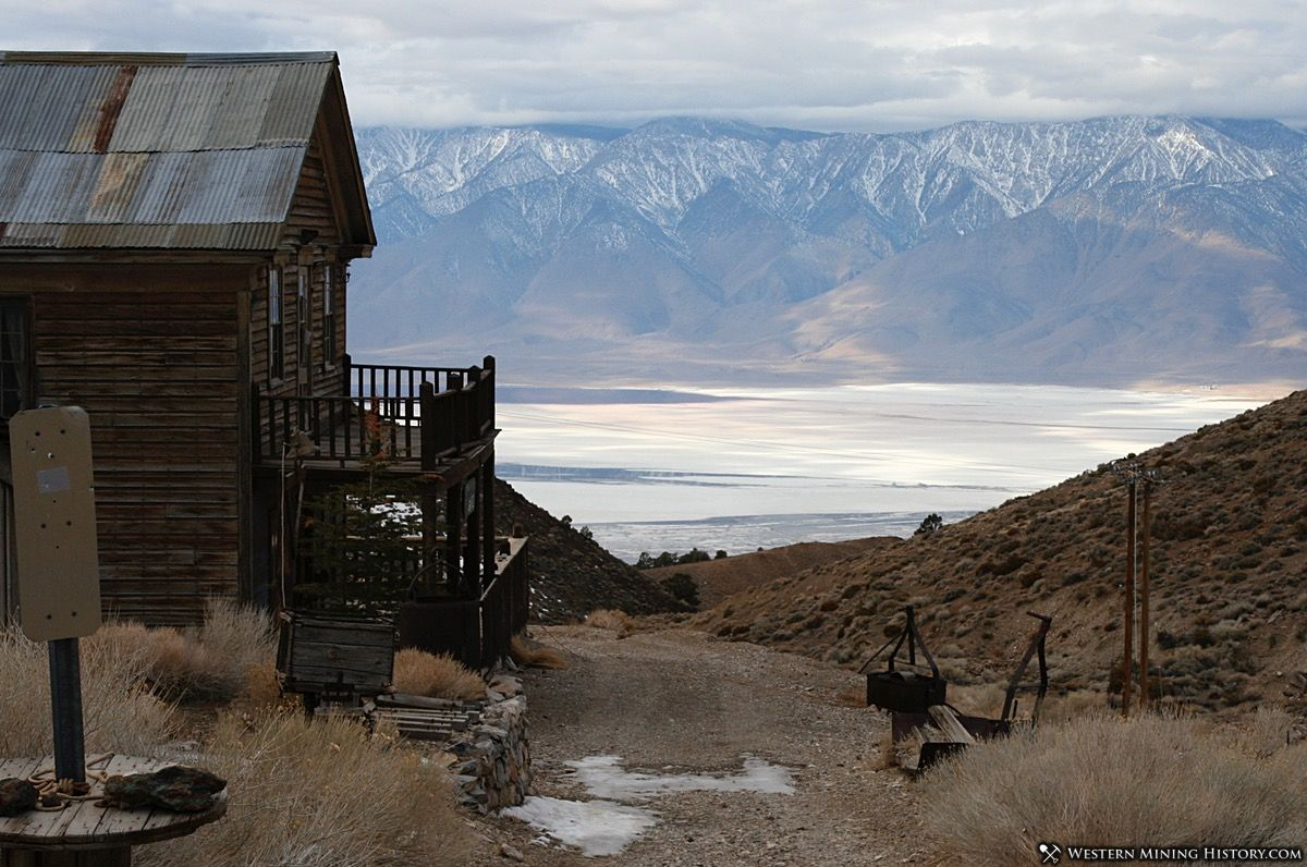View of Owens Valley from Cerro Gordo
