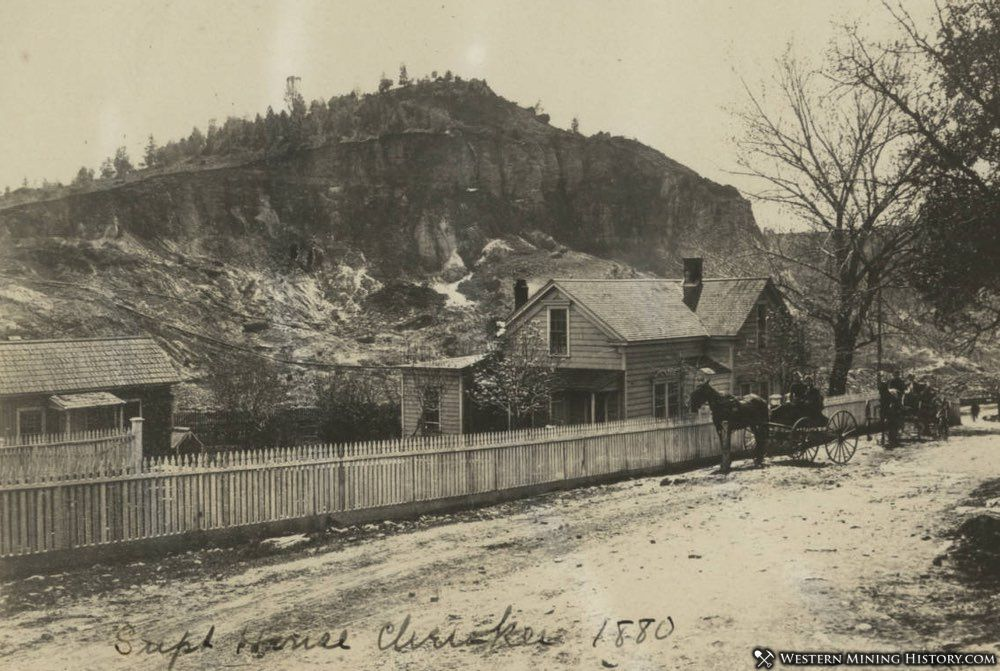 Cherokee, California in 1880