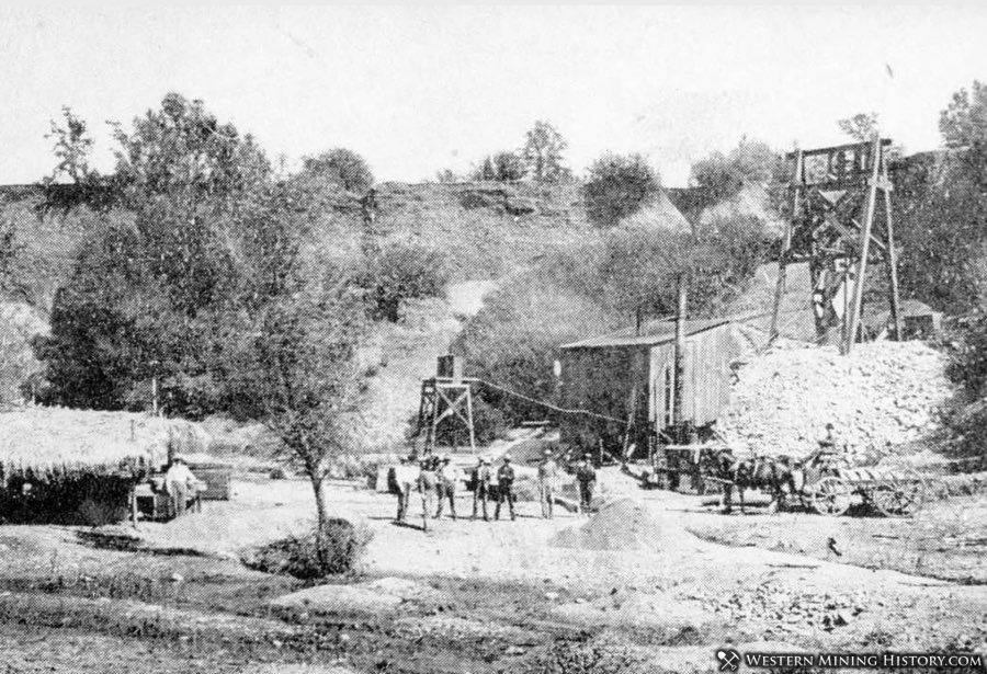 United States Diamond Mining Company at Cherokee November 1908
