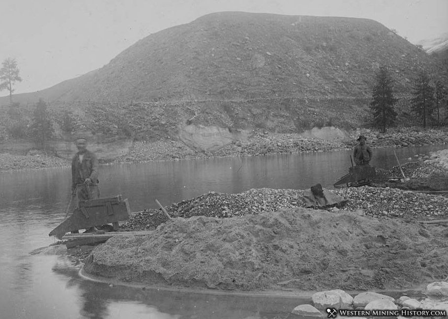 Chinese miners on Slate Creek near Florence, Idaho