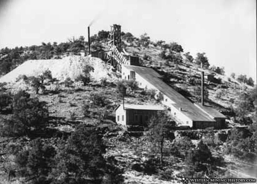United States Treasury mine and mill, Chloride, New Mexico