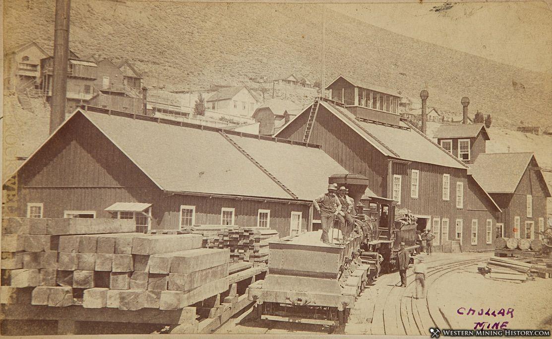 Chollar Mine - Virginia City, Nevada