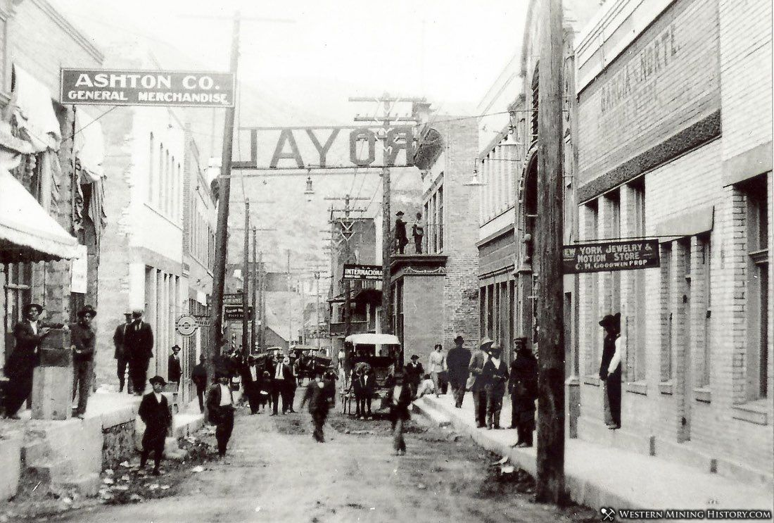 Chase Street - Clifton, Arizona ca. 1890s