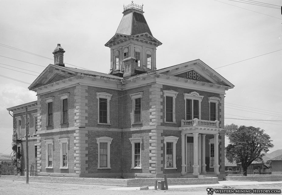 Cochise County Courthouse at Tombstone 1940