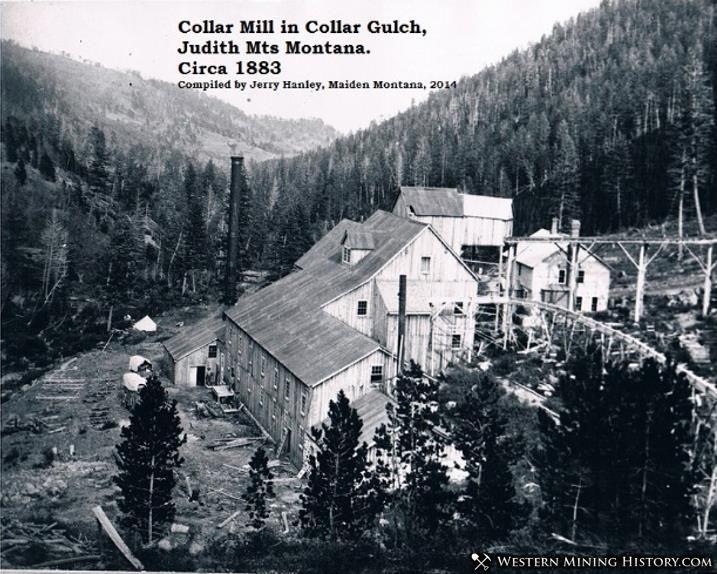 Collar Mill in the Judith Mountains near Maiden, Montana