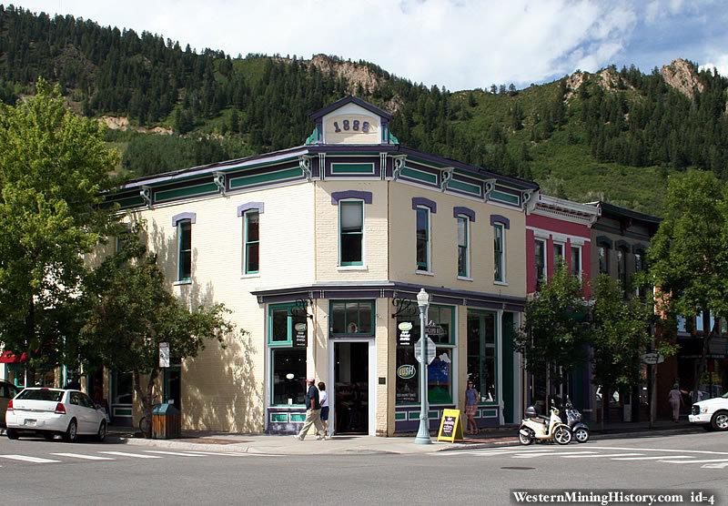 Historic building at Aspen, Colorado
