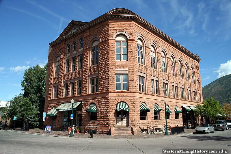 Historic building in Aspen Colorado