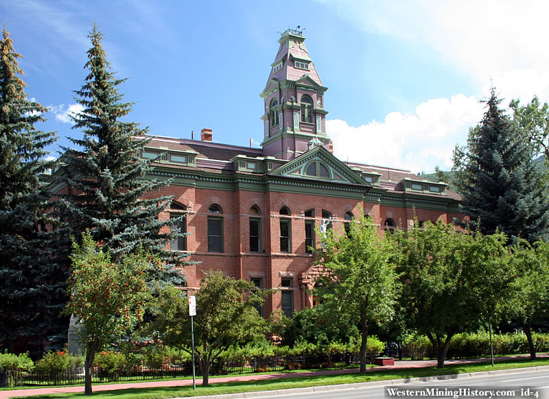 The Historic Pitkin County Courthouse was built in 1890