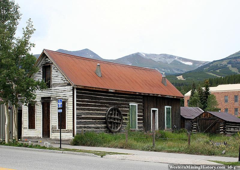 Historic building at Breckenredige Colorado