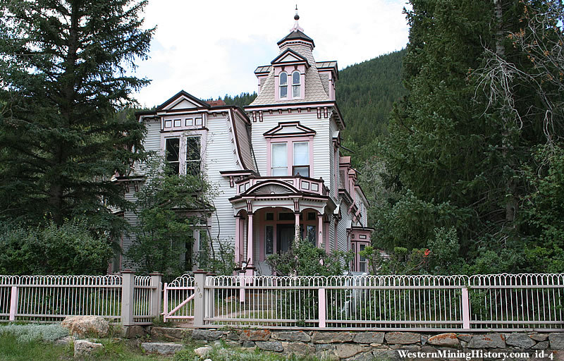 Victorian Home at Georgetown, Colorado