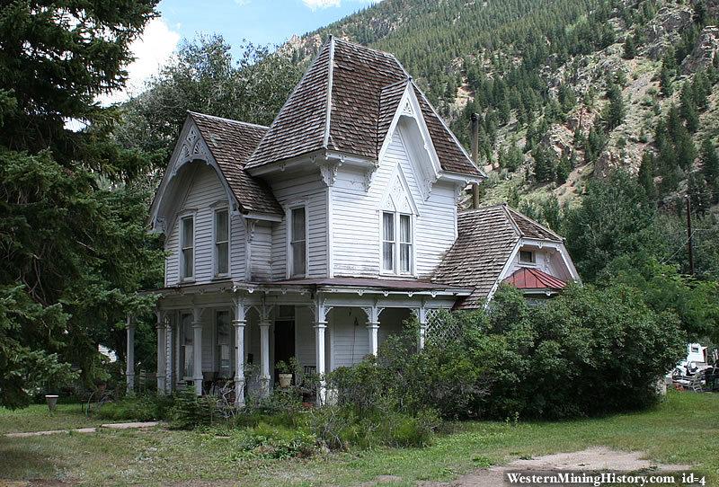 Victorian home georgetown colorado for Family home plans com