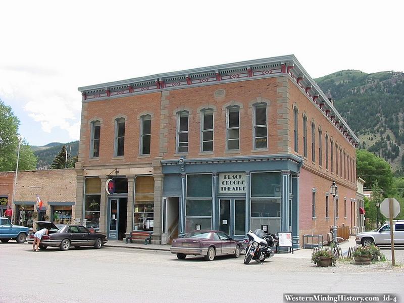 Historic buildings at Lake City Colorado