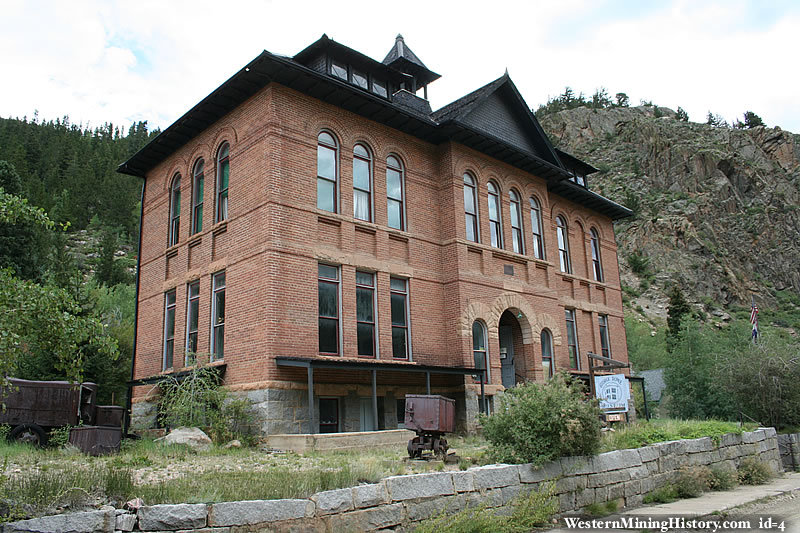 Former Silver Plume school, now the George Rowe Museum