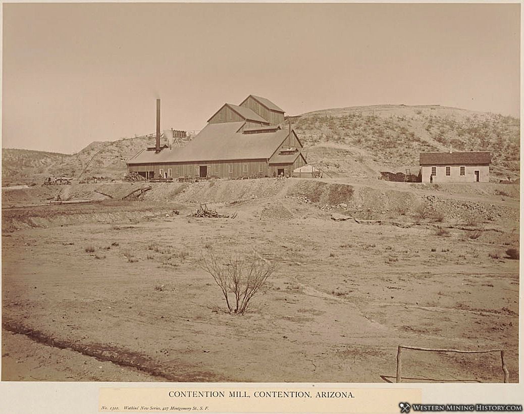 Contention Mill in Contention, Arizona 1880