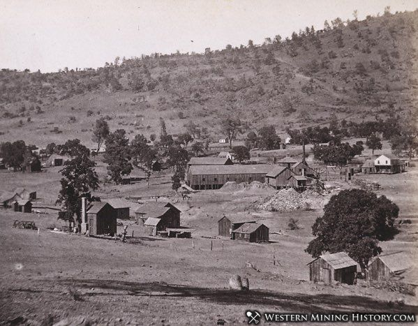 Keystone Copper Mine at Copperopolis California 1860s