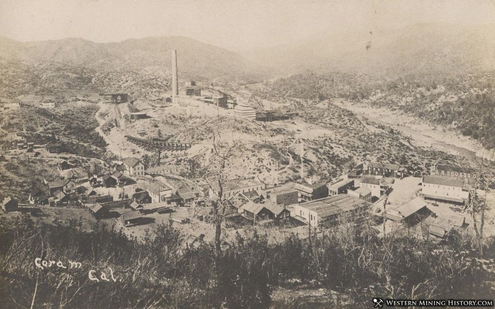 Coram and the Balaklala Smelter