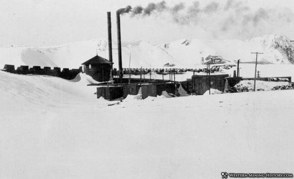 Corona Colorado - smokestacks are for the heating plant