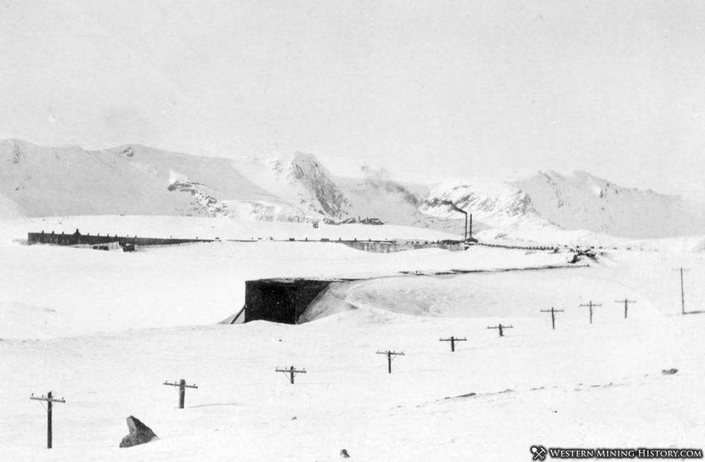 Snowsheds at Corona Colorado