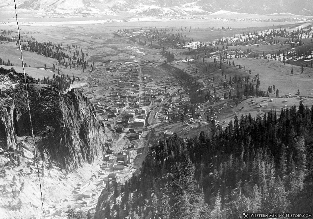 View of Creede Colorado November 1893