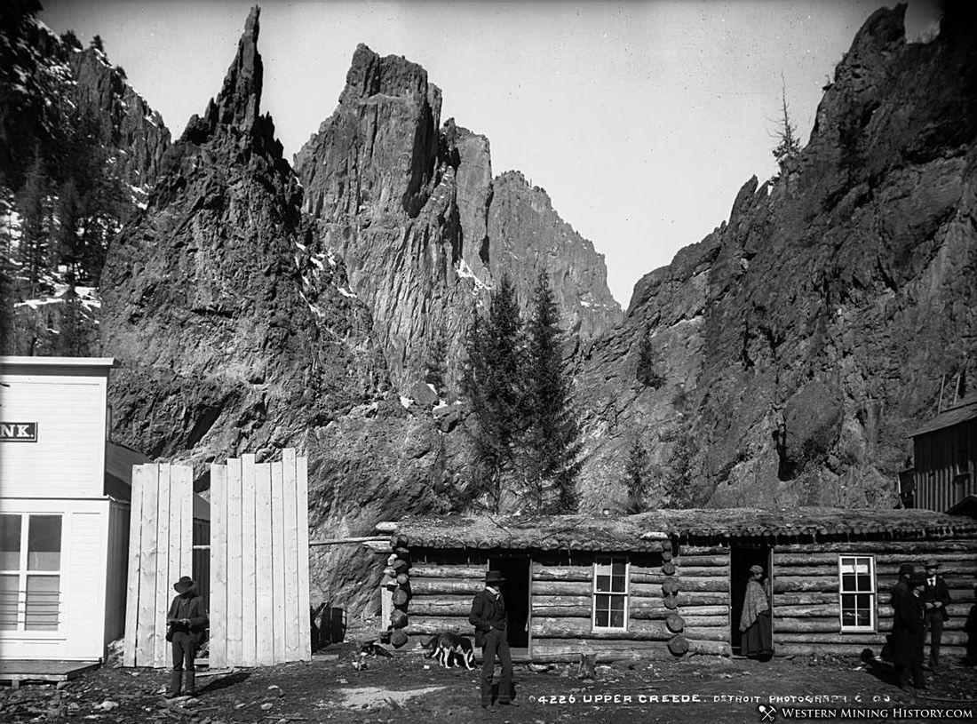 Upper Creede, Colorado ca. 1891