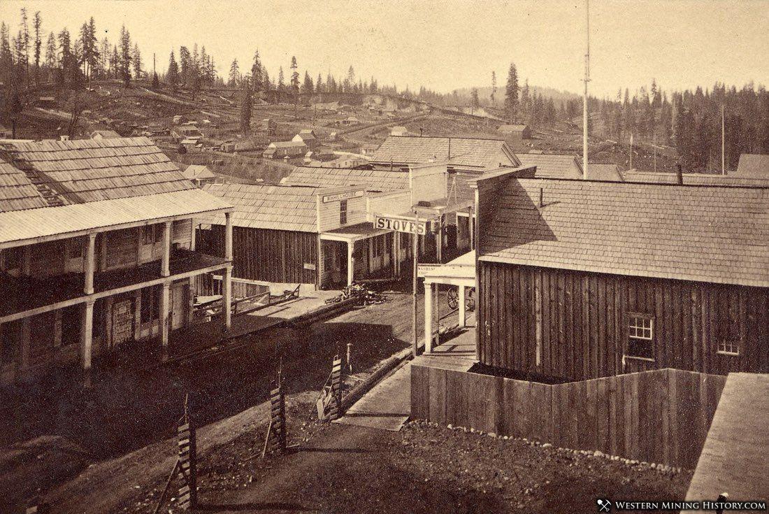 Dutch Flat, California 1860s