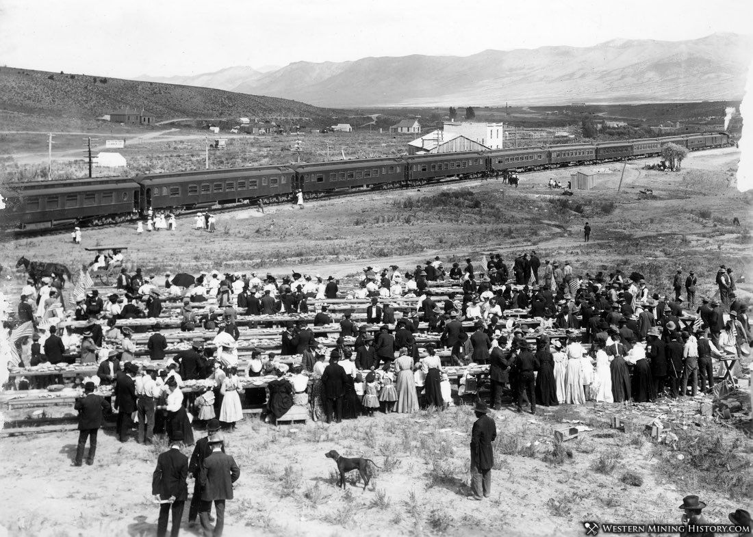 Railroad Day at Ely Nevada September 1906