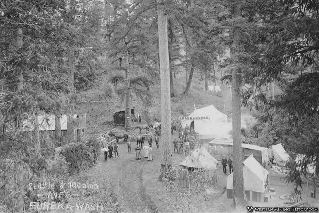 Circa 1896 photo of Republic Washington