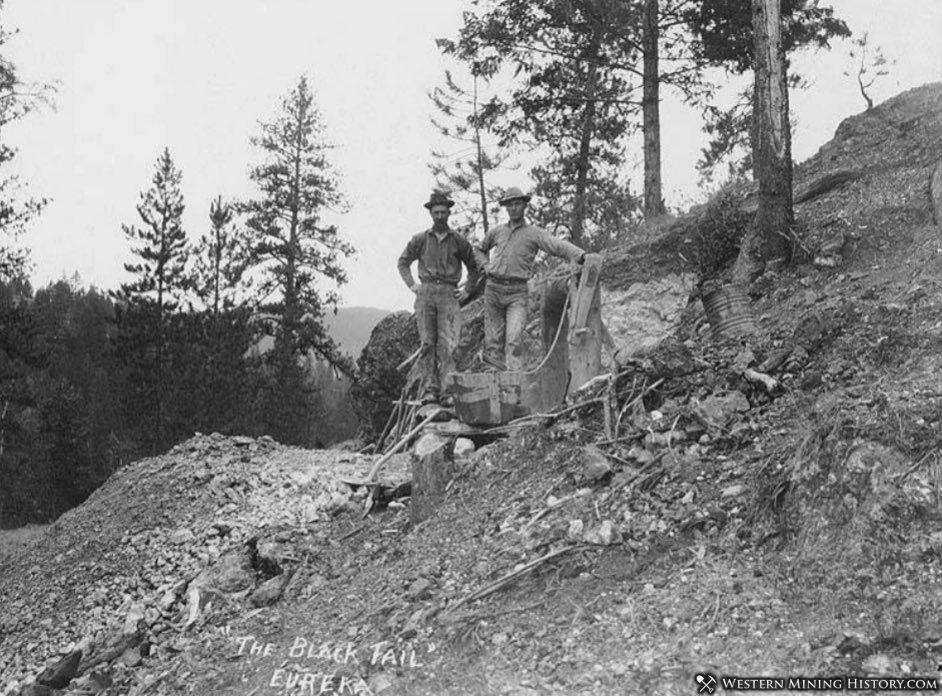 Black Tail mine at Republic Washington