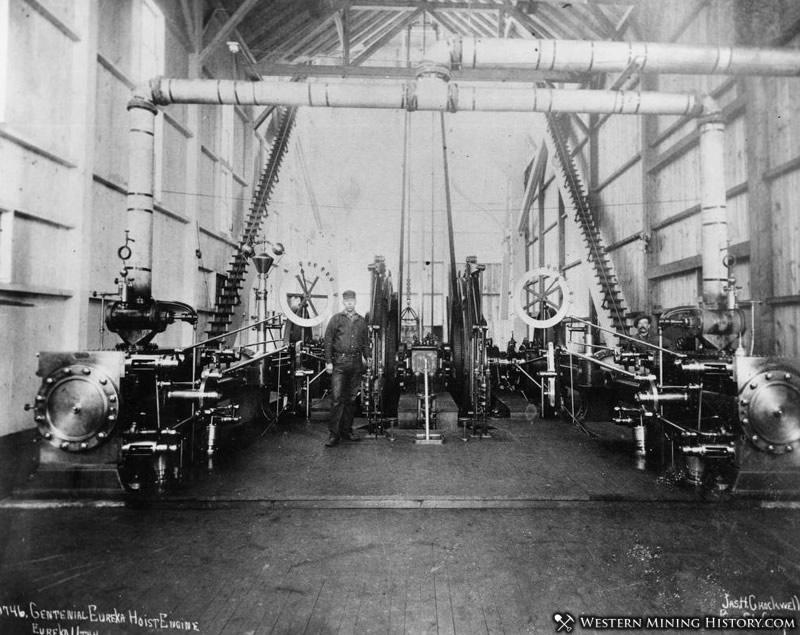 Centennial Eureka Mine Hoist House 1890s