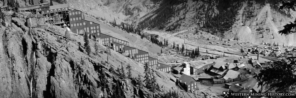 Sunnyside Mill and Eureka Colorado 1929
