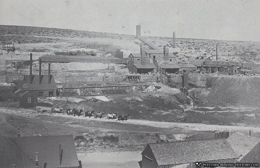 Eureka Consolidated Smelter ca. 1880