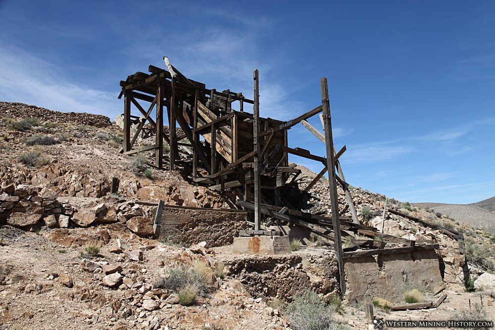 Cashier mill at the Eureka mine