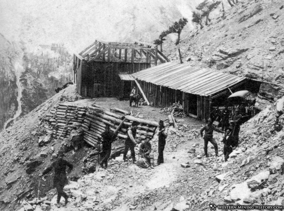 Excelsior Mine near Capitol City, Colorado ca. 1880