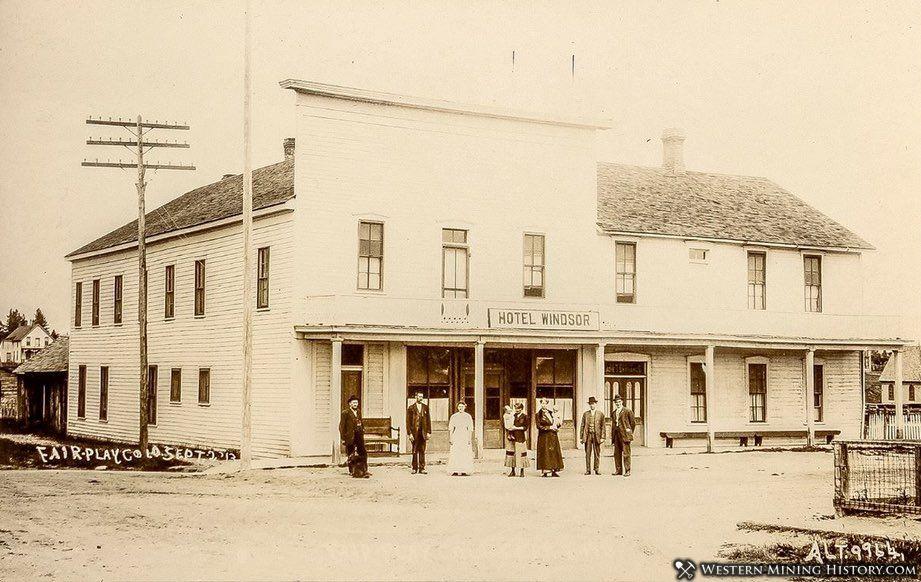Hotel Windsor Fairplay, Colorado Sept. 1913