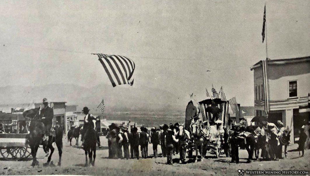 Fourth of July celebration at Fairview 1906