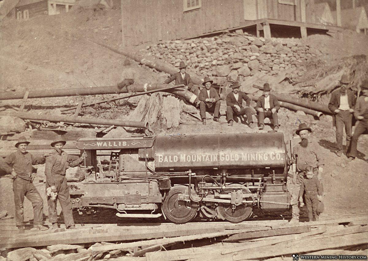Bald Mountain Mining Co. near Forest City, California ca. 1870