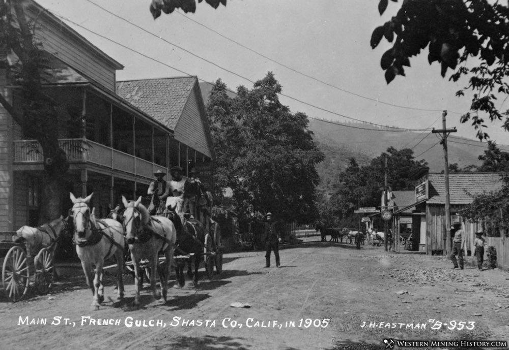 Main Street - French Gulch, California 1905