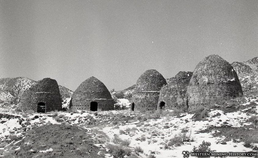 Charcoal kilns at Frisco 1940s