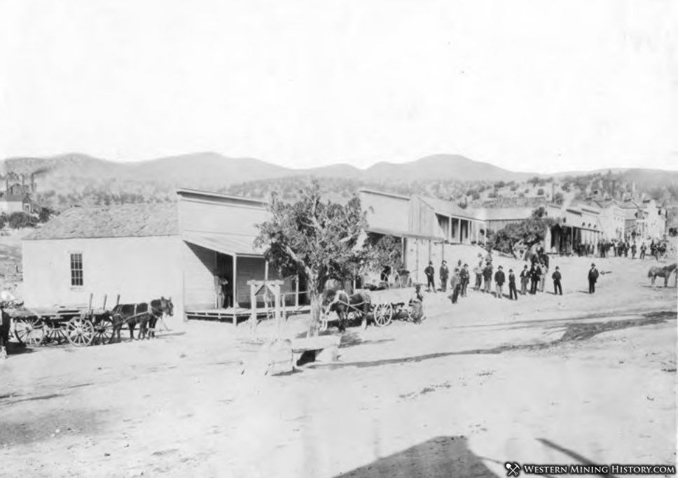Early view of Frisco, Utah