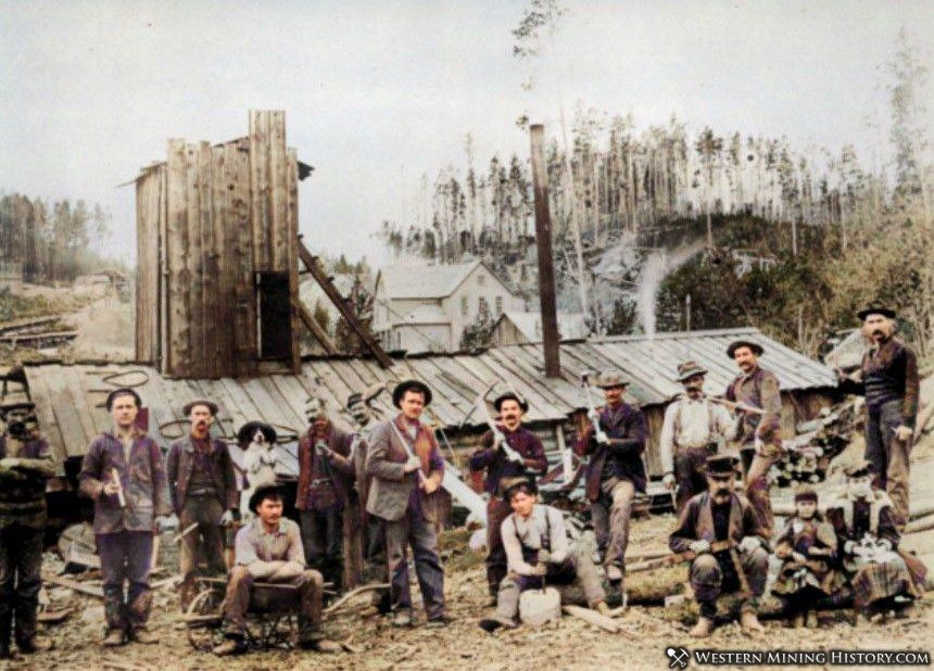Nancy Hanks Mine at Garnet Montana