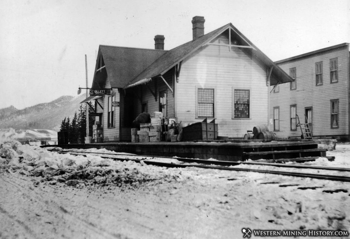 Midland Terminal Railroad Station Gillette Colorado