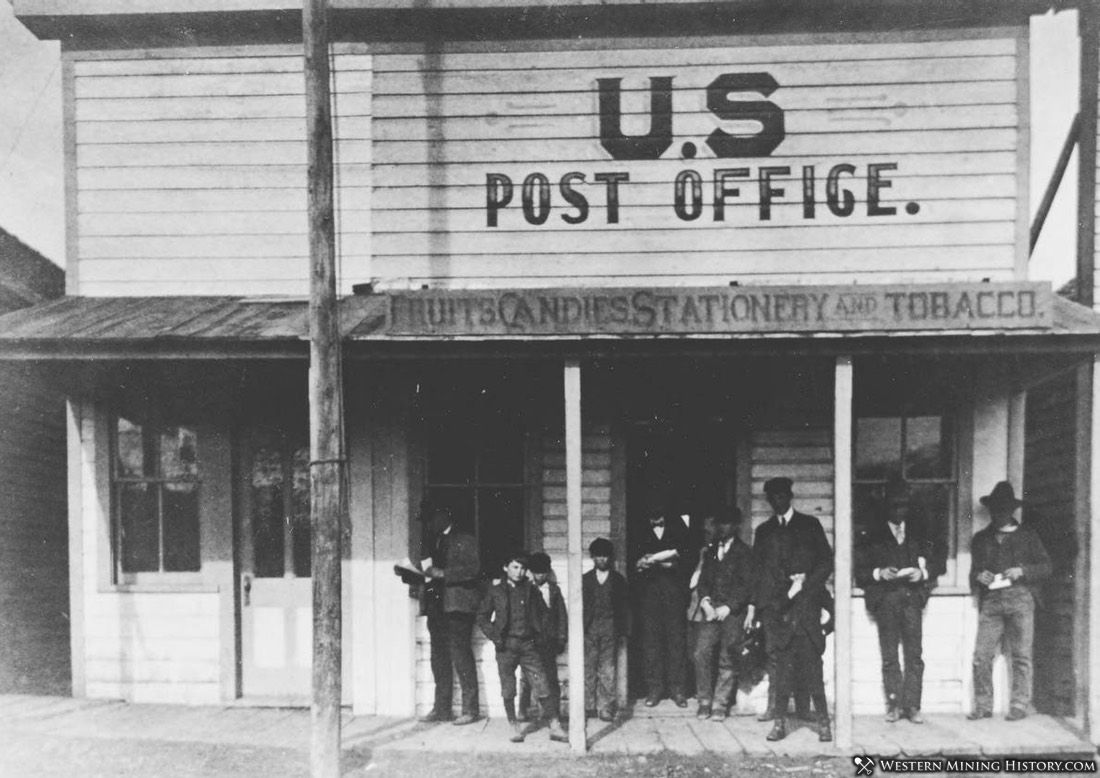 Post Office at Gilt Edge Montana