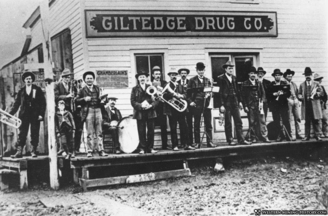 Band at Gilt Edge Montana