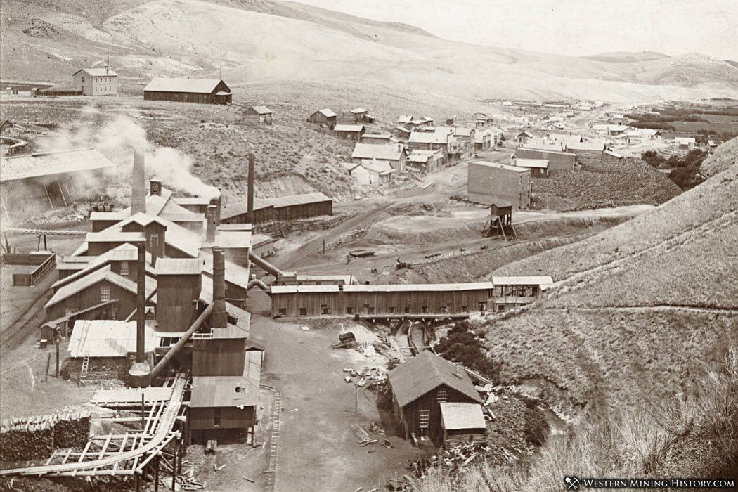 Glendale, Montana and the Hecla Consolidated Mining Company smelter