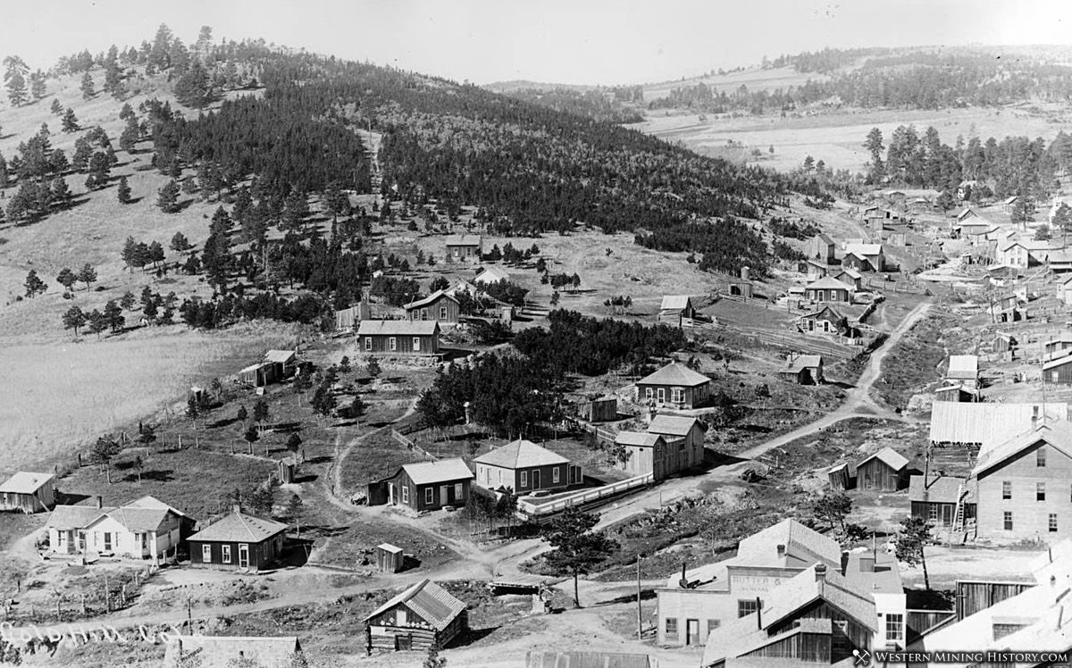 View of Gold Hill, Colorado 1890s
