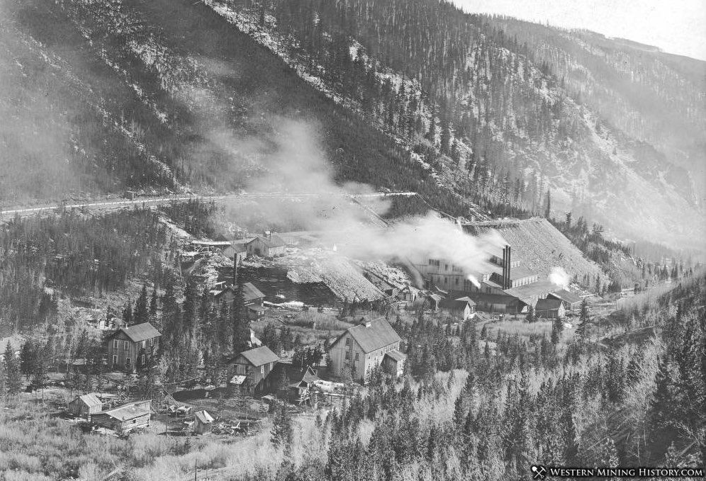 Gold Link mine near Ohio City, Colorado