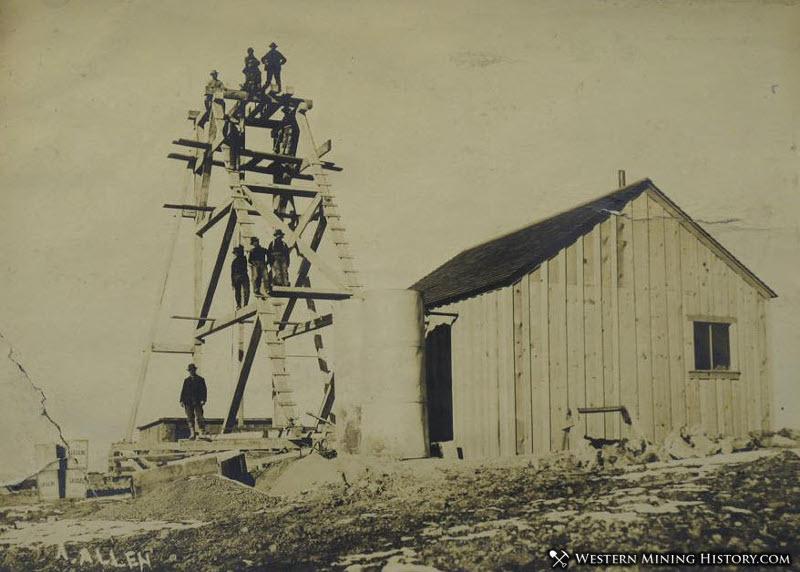 Simmerone Mine - Goldfield Nevada 1904
